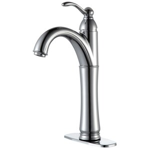 Vessel Mixer Single Hole Single Handle Bathroom Faucet with Optional Pop Up Drain