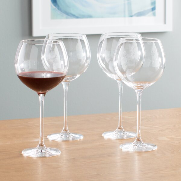 Tuscany Classics Red Wine Glass Set (Set of 4) by