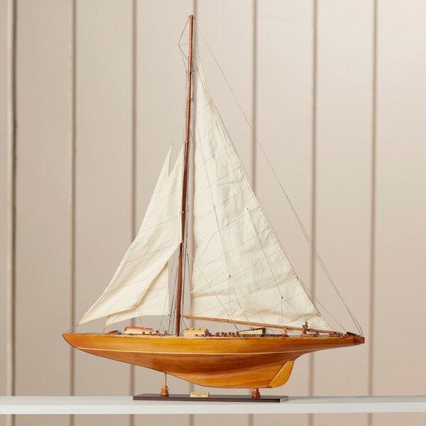 Endeavor Model Boat by Breakwater Bay