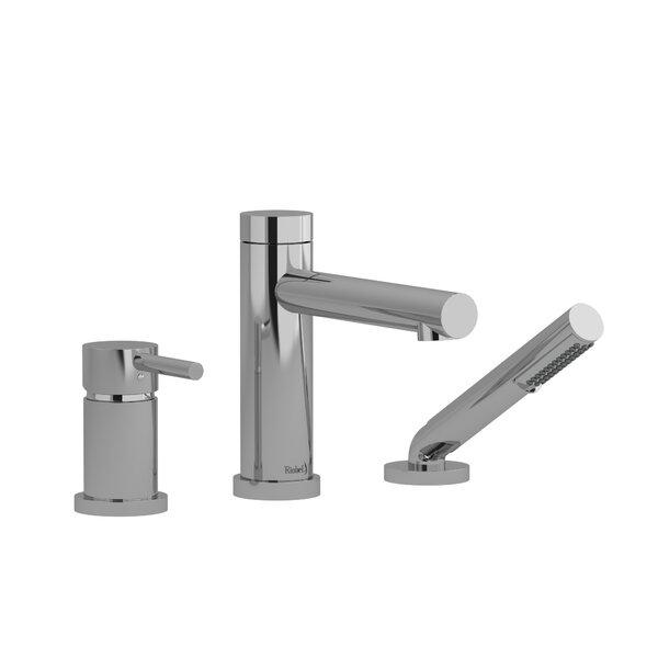 GS Single Handle Deck Mounted Roman Tub Faucet Trim By Riobel