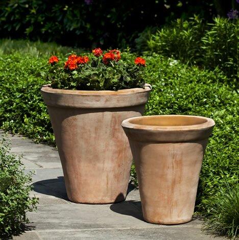 Faller 2-Piece Terracotta Pot Planter Set by August Grove