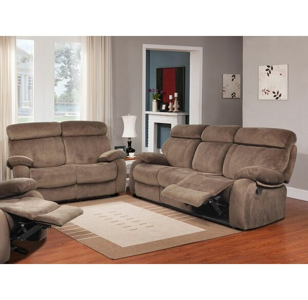 #1 Walden Reclining 2 Piece Living Room Set By Beverly Fine Furniture Modern