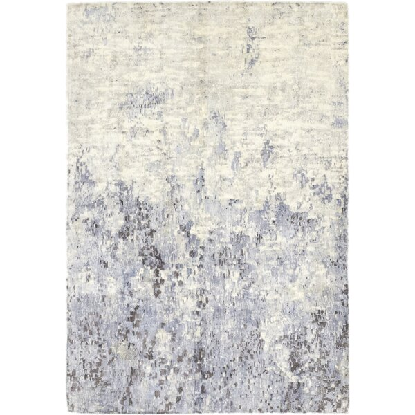 One-of-a-Kind Elizabeth Street Hand-Knotted Wool Beige Indoor Area Rug by 17 Stories
