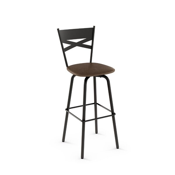 Tommy 30.63 Swivel Bar Stool by Amisco