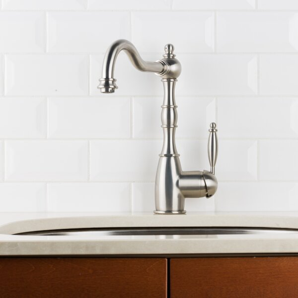 Victorian Single Handle Kitchen Faucet by Hahn