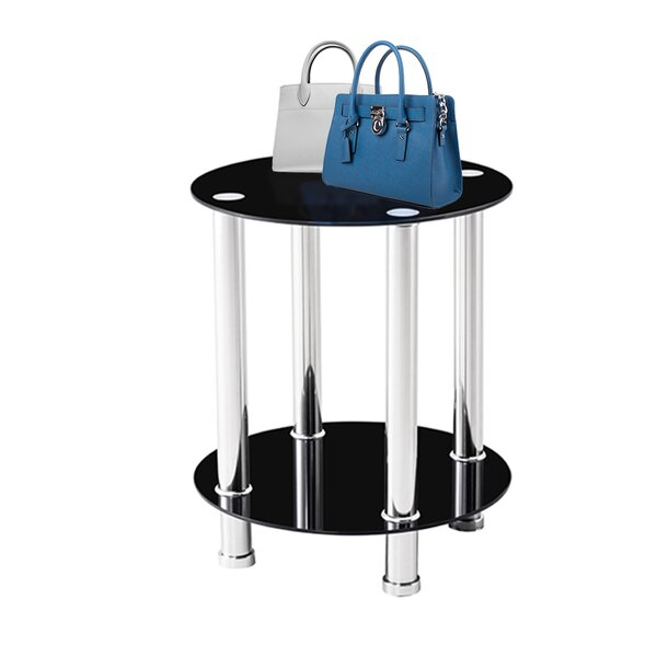 Louviers End Table (Set of 2) by Ebern Designs Ebern Designs