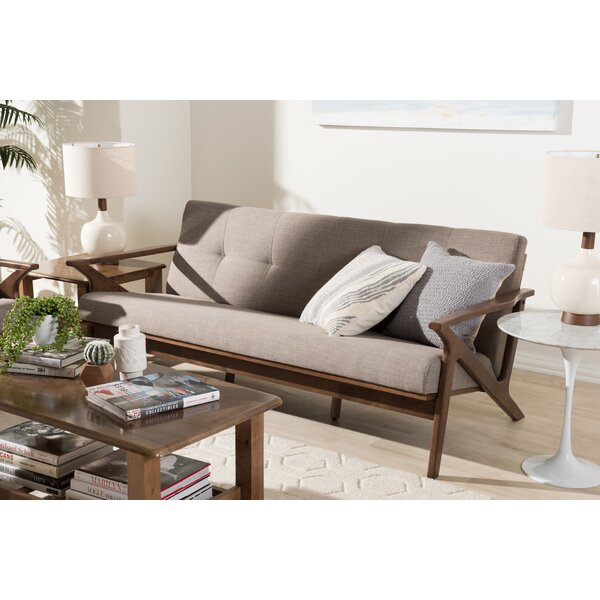 We Have A Fabulous Range Of Wojtala Mid-Century Modern Sofa by Union Rustic by Union Rustic