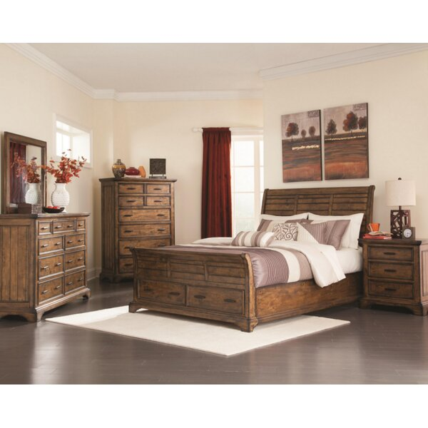 Baye Sleigh Configurable Bedroom Set by Canora Grey