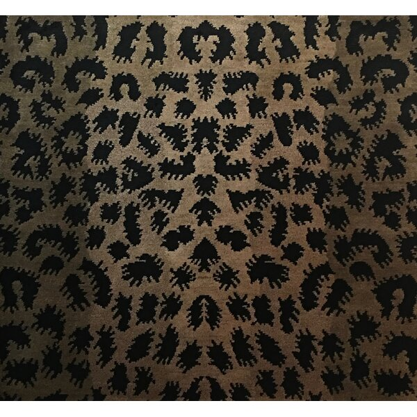 Metro-Velvet Hand- Knotted Light Gold Area Rug by Exquisite Rugs