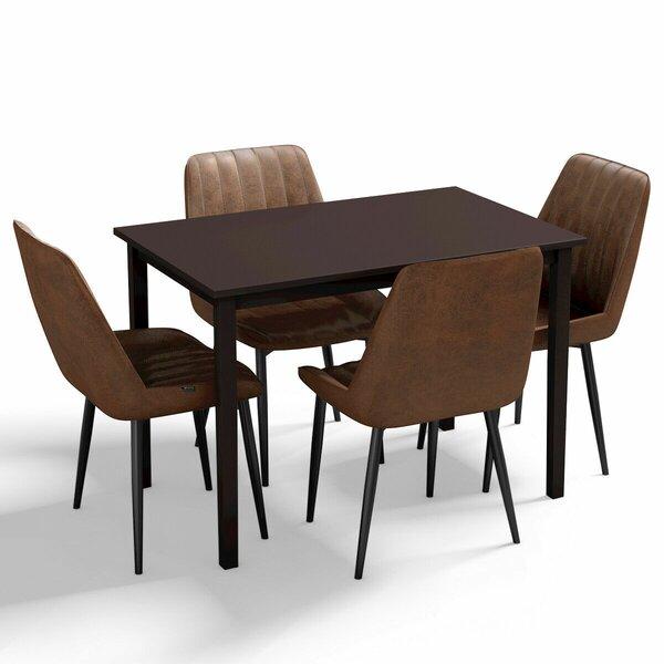 Bridgeman 5 Piece Dining Set by Corrigan Studio