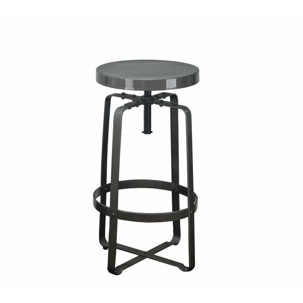 Adjustable Height Swivel Bar Stool by DHC Furniture