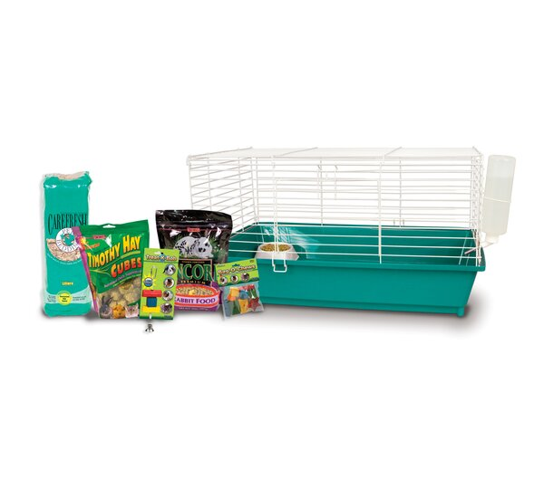 Home Sweet Home Rabbit Cage Starter Kit by Ware Manufacturing