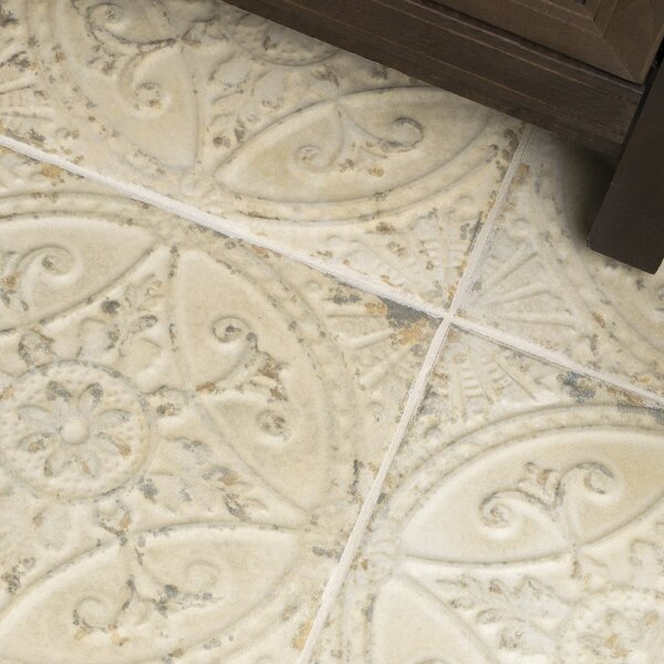 Castile 13 x 13 Ceramic Field Tile in Beige by EliteTile