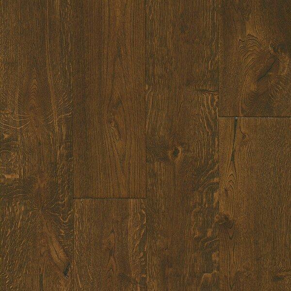 7-1/2 Engineered Oak Hardwood Flooring in Deep Etched Hampton Brown by Armstrong Flooring