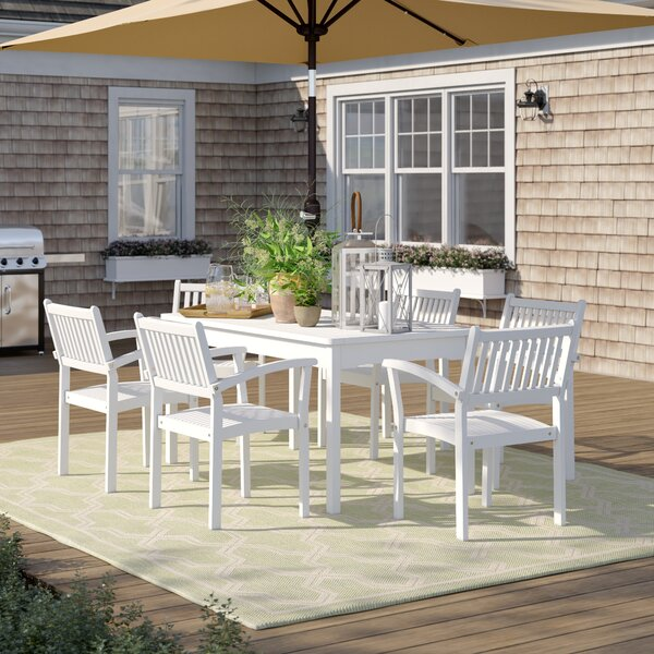Andromeda 7 Piece Dining Set by Beachcrest Home