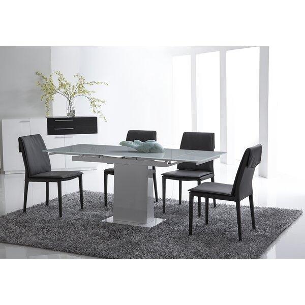 Bonn Extendable Dining Table by Bellini Modern Living Bellini Modern Living