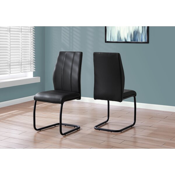 Lacombe Upholstered Dining Chair (Set of 2) by Orren Ellis