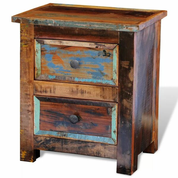 2 Drawer Nightstand by World Menagerie