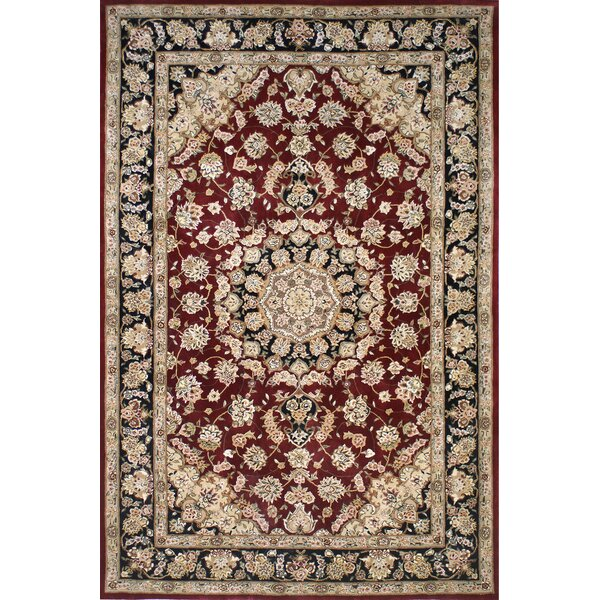 Hand-Tufted Burgundy/Red Area Rug by American Home Rug Co.