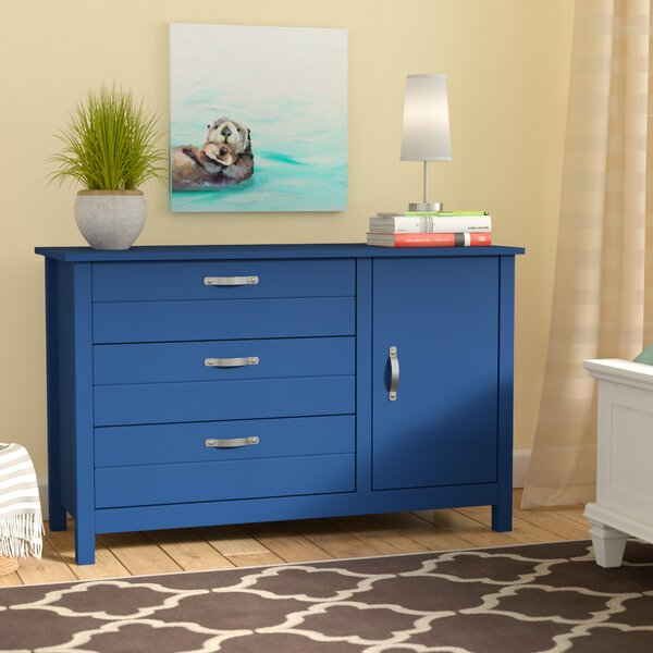 Mikel 3 Drawer Dresser by Viv + Rae