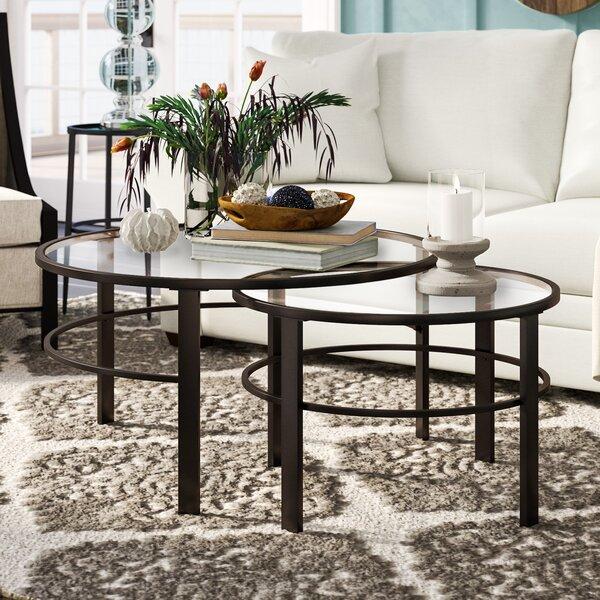 Eva 2 Piece Coffee Table Set By Modern Rustic Interiors
