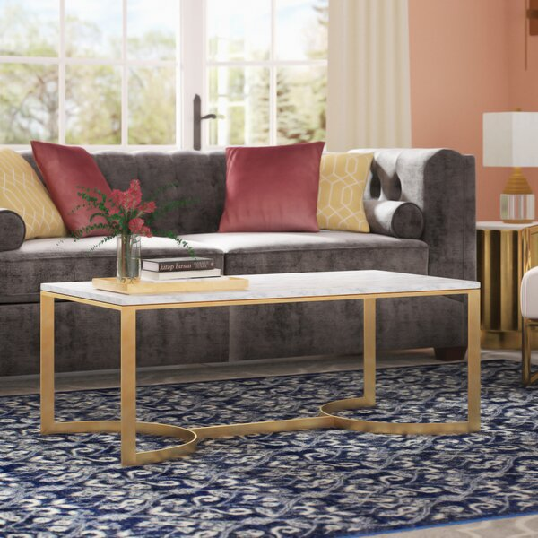 Ariana Coffee Table With Tray Top By Mercer41
