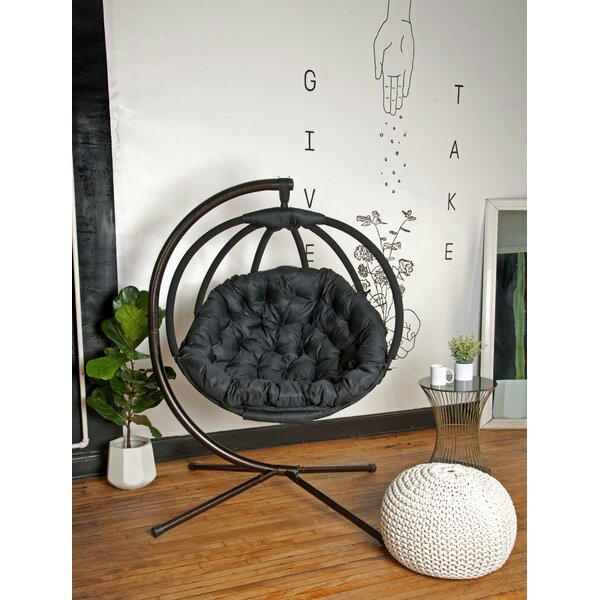 Kauffman Swing Chair with Stand by Bloomsbury Market