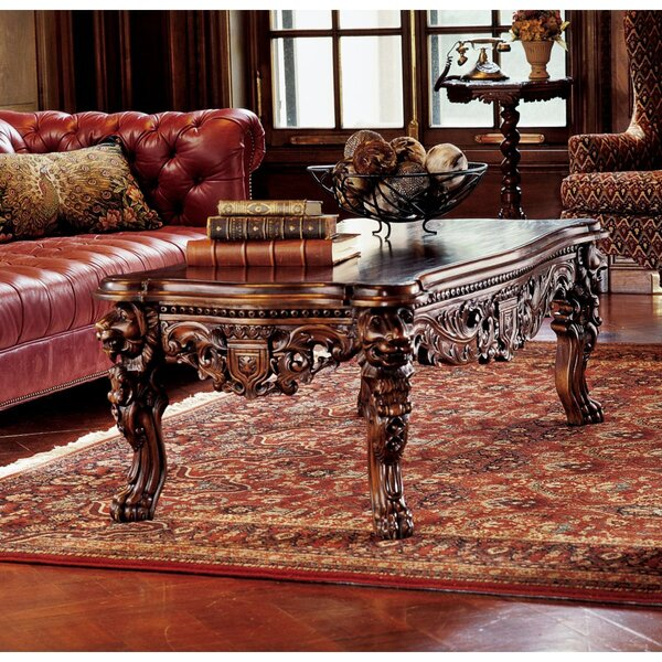 The Lord Raffles Coffee Table by Design Toscano