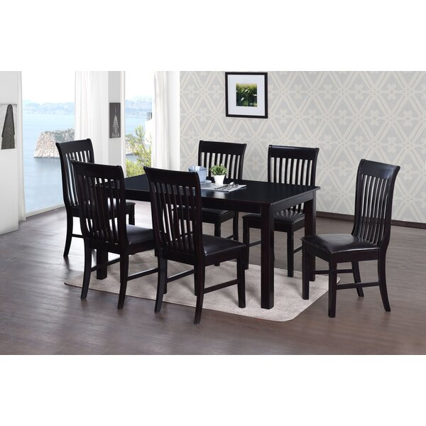 Cleethorpes Indoor 7 Piece Dining Set by Darby Home Co