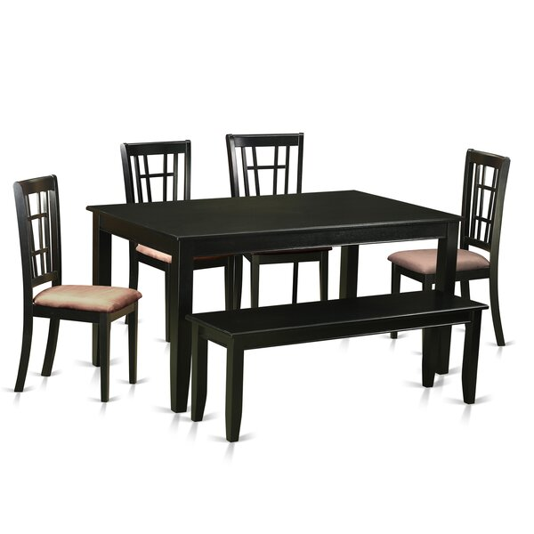 Araminta 6 Piece Dining Set by Alcott Hill