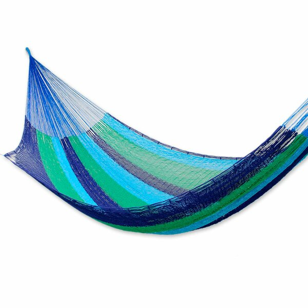 Fair Trade Mayan Cotton Camping Hammock by Novica