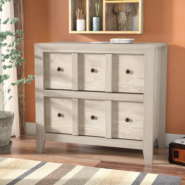 Ericka 2 Drawer Lateral Filing Cabinet by Mistana