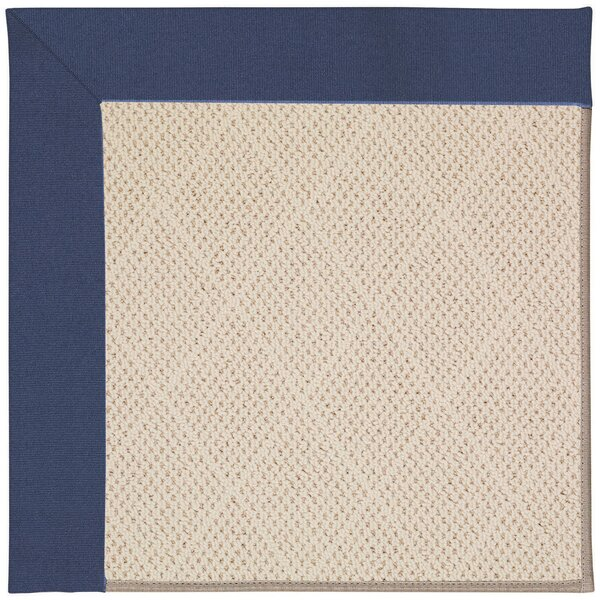 Lisle Cream Indoor/Outdoor Area Rug by Longshore Tides