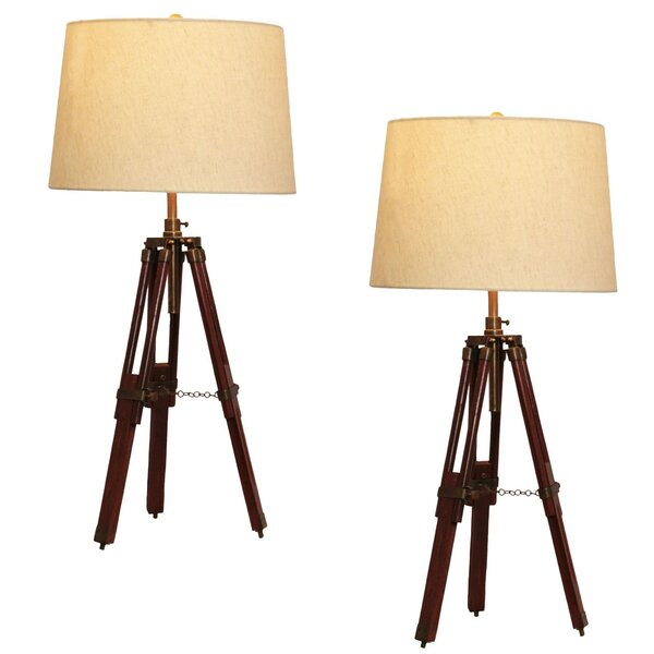 Surveyor 29 Table Lamp (Set of 2) by Urban Designs