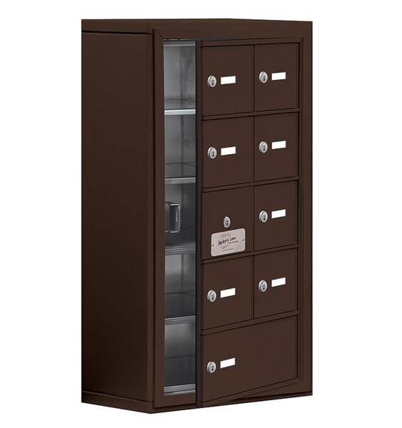 5 Tier 2 Wide EmpLoyee Locker by Salsbury Industri