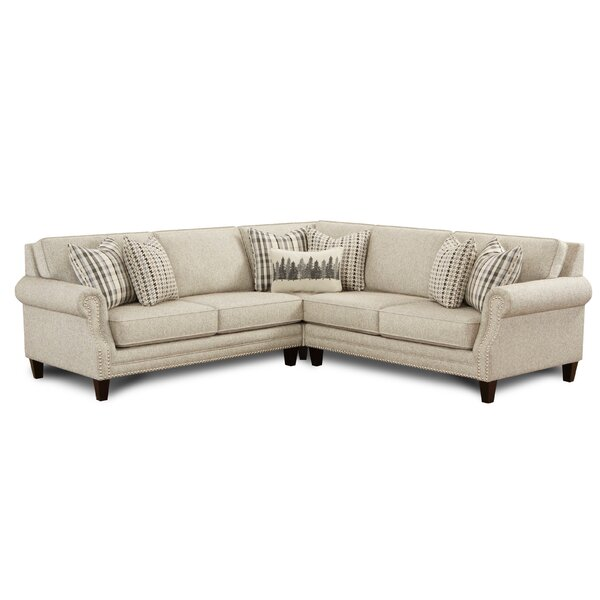 Coons Paperchase Berber Symmetrical Sectional by Darby Home Co