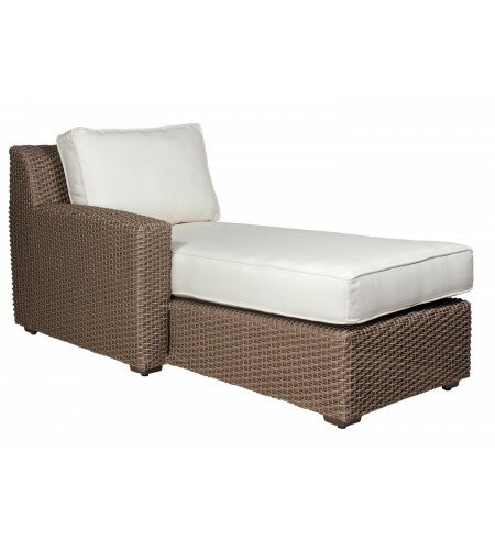 Augusta Chaise Lounge with Cushion