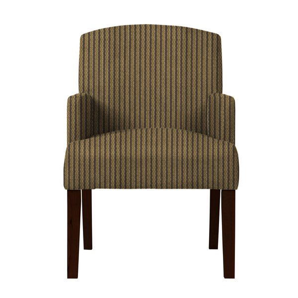 Arturo Vertical Stripes Arm Chair by Langley Street