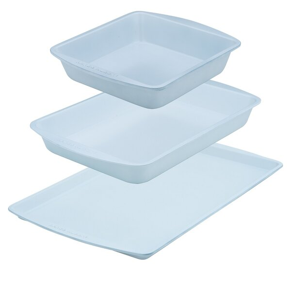 3 Piece Non-Stick Bakeware Set by Range Kleen