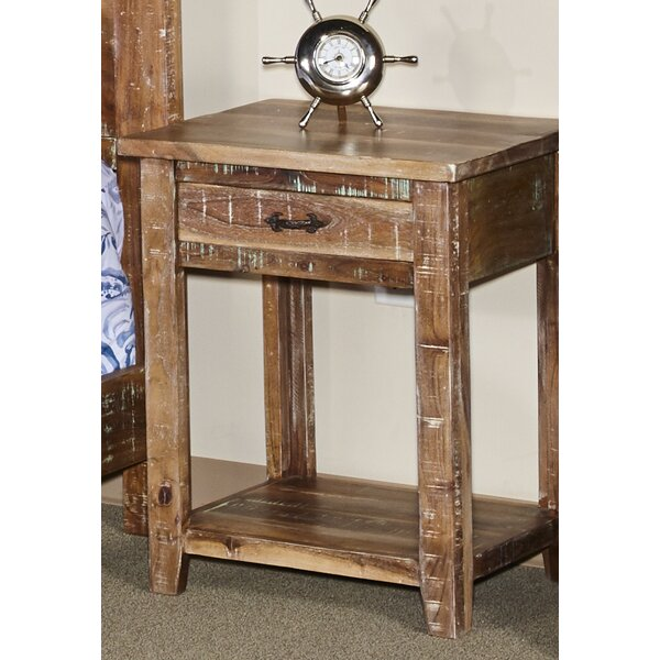 Walczak 1 Drawer Nightstand by Millwood Pines Millwood Pines
