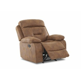 Russel Manual Glider Recliner by Charlton Home
