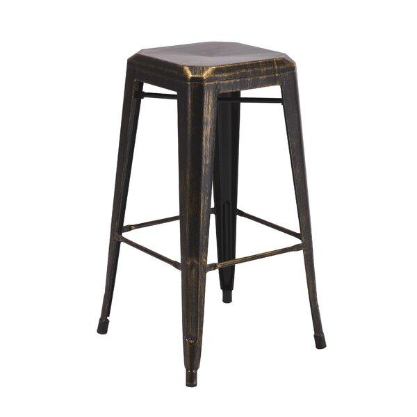 Backless Metal 30 Bar Stool (Set of 2) by Vogue Furniture Direct