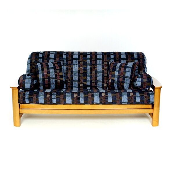 Royal Thunder Box Cushion Futon Slipcover by Lifestyle Covers