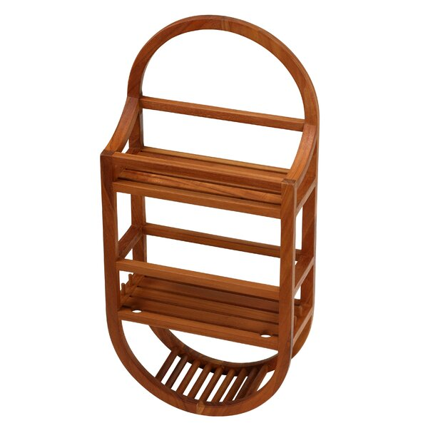 Eggert Teak Hanging Shower Caddy by The Twillery Co.