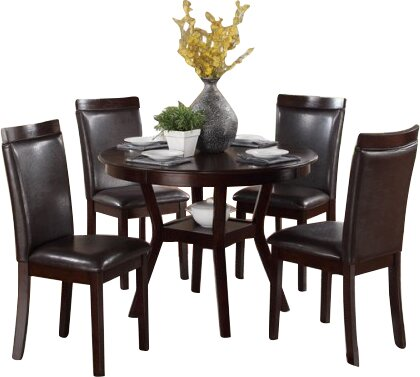 Marjorie 5 Piece Dining Set by Red Barrel Studio