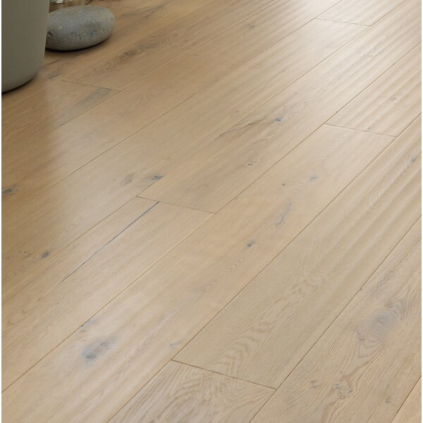 Berkeley 7-1/2 Engineered Oak Hardwood Flooring in White by Woodpecker