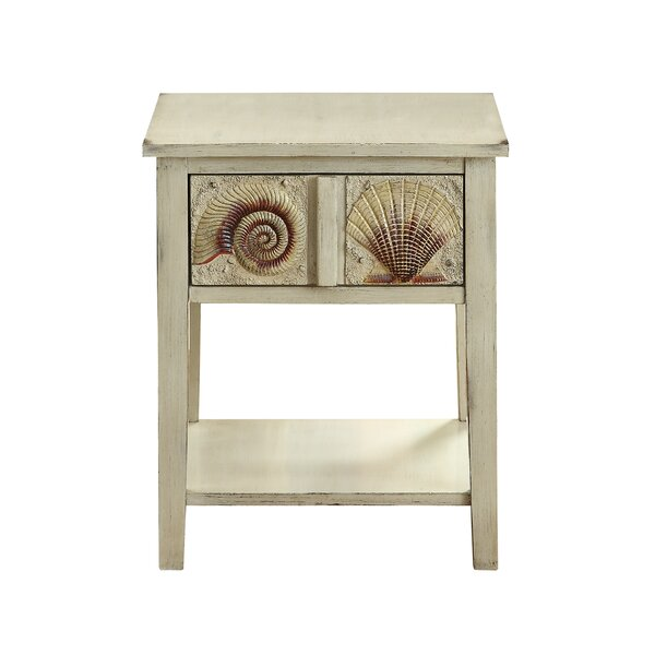 Nebeker End Table by Rosecliff Heights