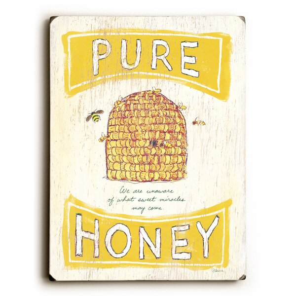 Pure Honey Vintage Advertisement by August Grove