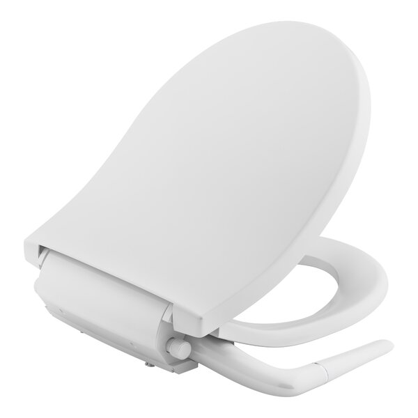Puretide Manual Cleansing Round Toilet Seat Bidet by Kohler