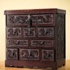 Tooled LeatherJewelry Box by Novica